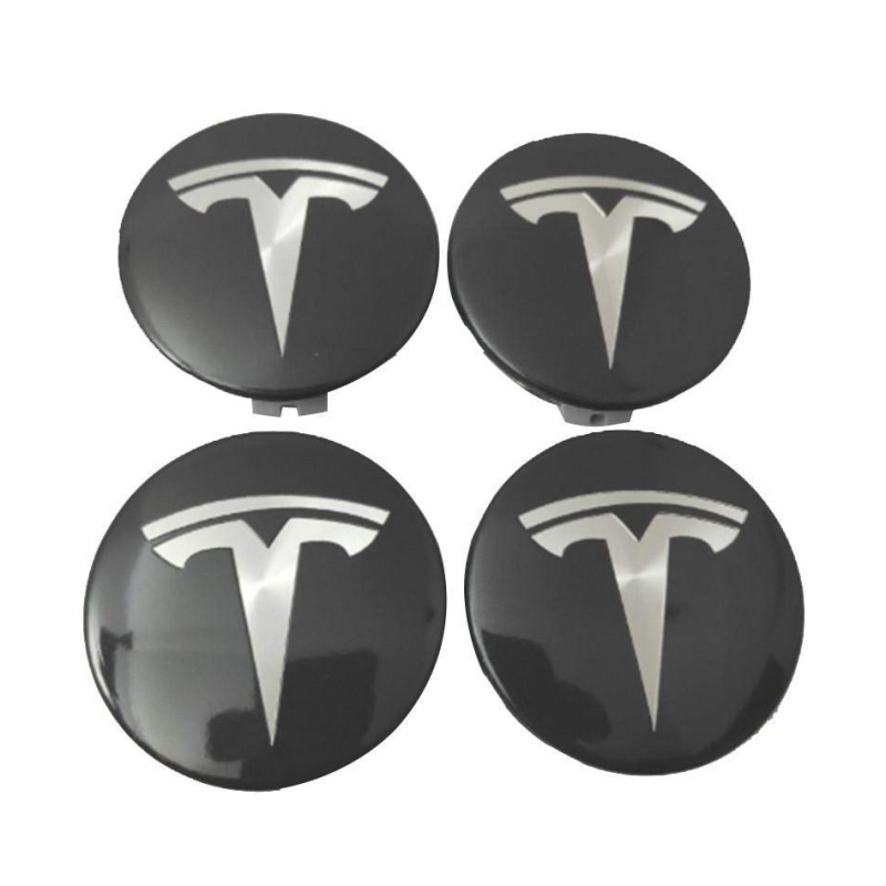 OEM Aero Wheel Center Cap + 20 Lug Nut Covers Kit Tesla For Model 3 S & X New