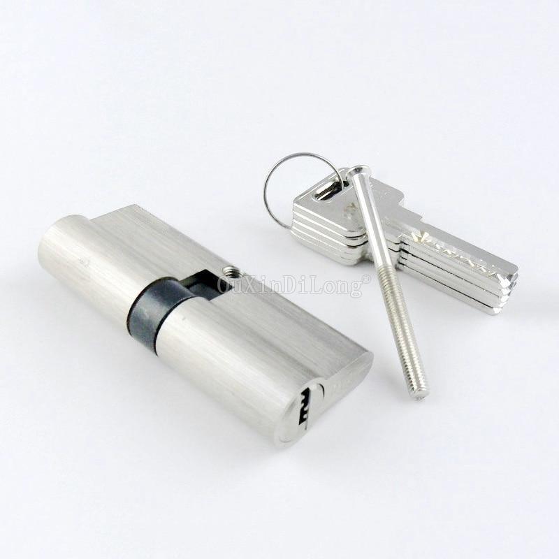1PCS 60MM Double-Sided Key Door Lock Cylinder Interior Door Lock Cylinder With Brass Key Lock Gall GF13