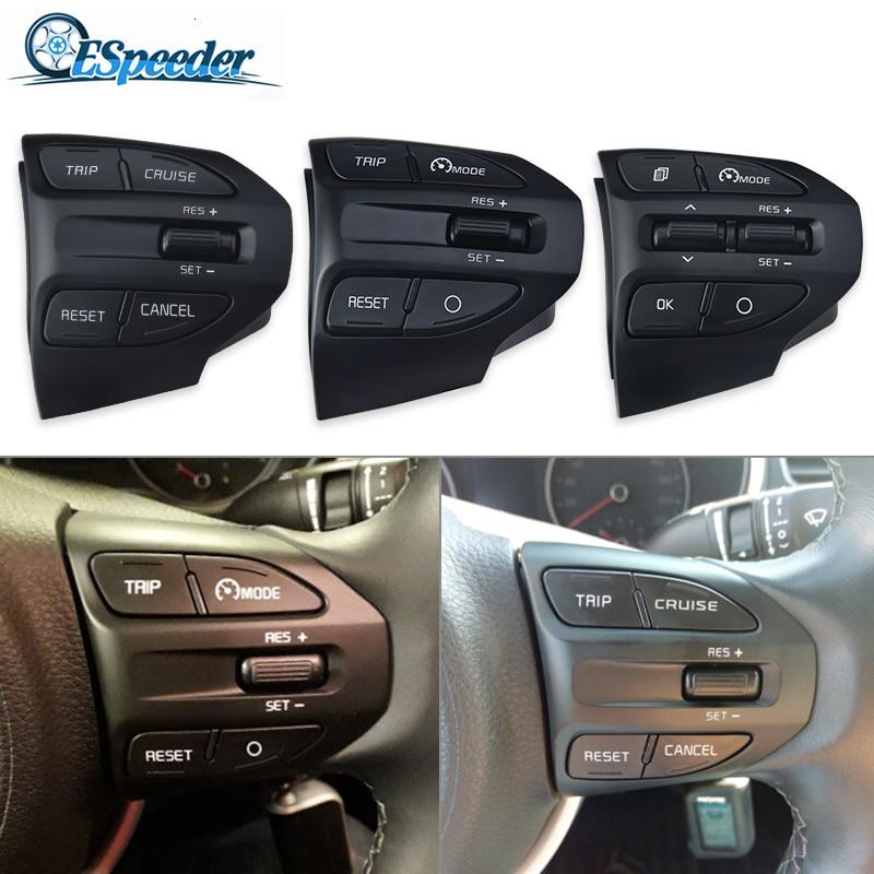 ESPEEDER Car Steering Wheel Button Bluetooth Phone Cruise Control Volume For KIA K2 RIO 2017 2018 RIO X LINE Car AccessoriesSteering Wheels & Steering Wheel Hubs   -