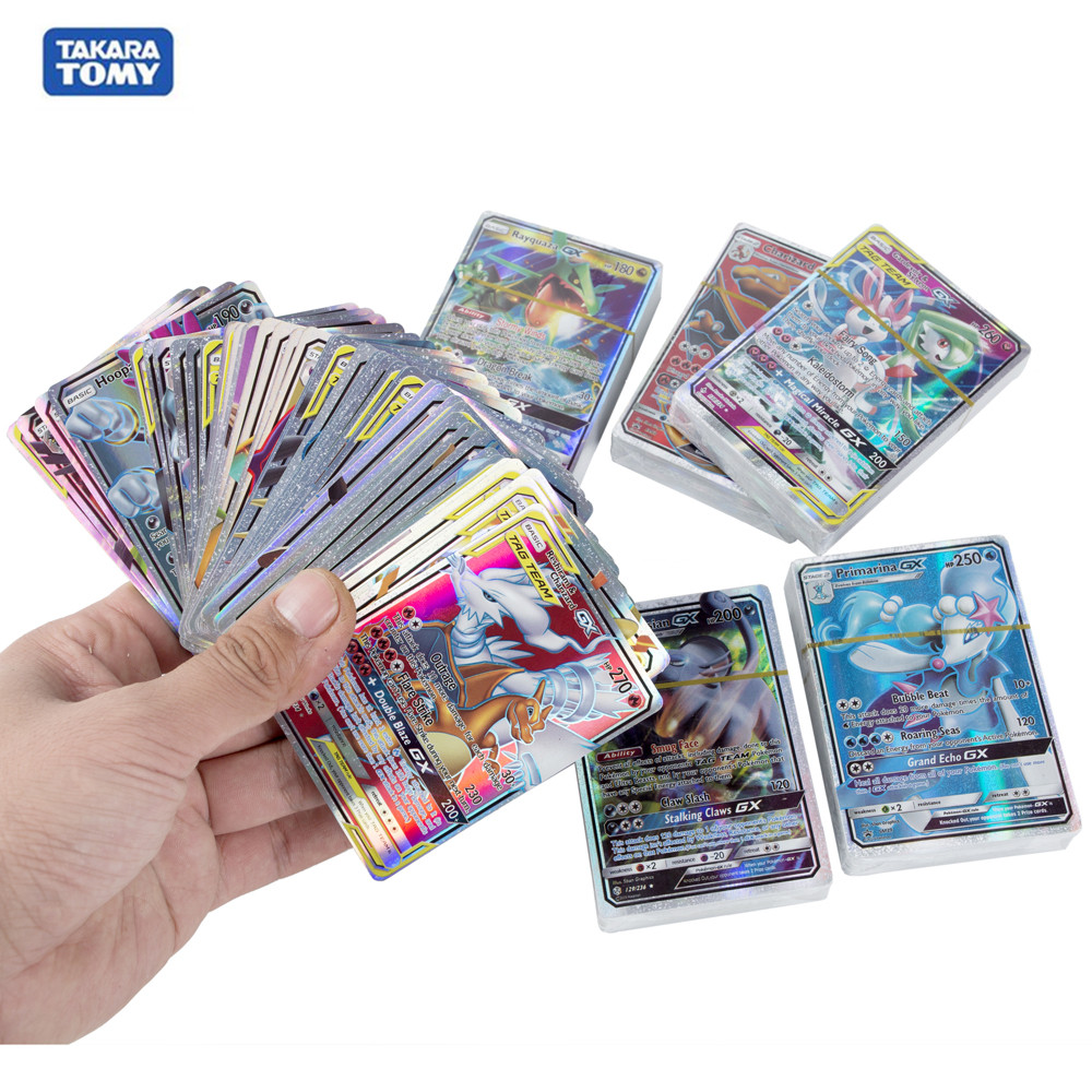 Pokemon Cards Vmax GX EX Tag Team Pokemon Shinny Card Game Toy Trade Card Collection Toys Child Birthday Gift