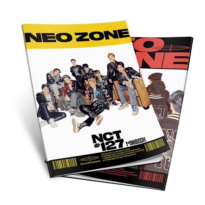 Kpop NCT127 Photobook Fashion K-pop NCT 127 Mini Photo Album Photo Card Fans Souvenir Fans Gift Collection