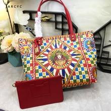 Luxury Italy Ethnic Style Bag Handbags New Colorful Shopping Bag, Master Bag, High quality leather,  Large Capacity Shoulder Bag bag matilda italy bag page 8