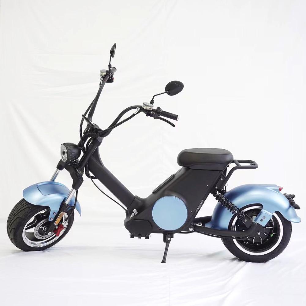 Популярные электрические скутеры, мотоциклы, одобренные COC, электрический гольф-мотоцикл Citycoco, модель батареи 2000 Вт, 60 в, 20 Ач