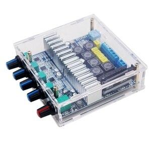 Image 1 - Bluetooth 5.0 amplifikatör kurulu TPA3116D2 2.1 kanal ses Stereo Subwoofer amplifikatör kurulu 2*50W + 100W bas AMP