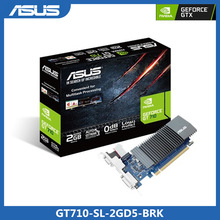 Asus GT710-SL-2GD5-BRK Grafikkarte GeForce®GT 710 DDR5 2GB PCI Express 2,0 HDMI-Kompatibel DVI Video Karte