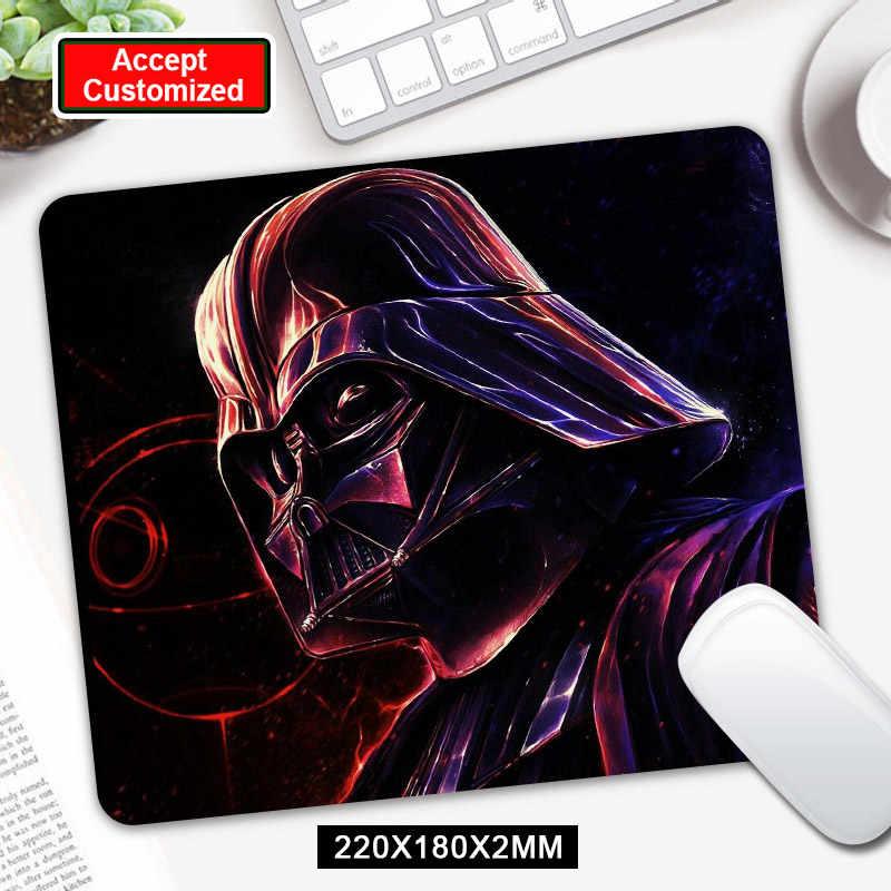 Yıldız Savaşları Oyun Mouse Pad Darth Vader Bilgisayar Mousepad Kauçuk Masası Fare Mat için Dizüstü Bilgisayar için LOL Dota 2
