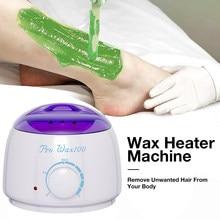 Calentador de Cera para depilación, máquina de fusión de depilación Cera, Kit de depilación para cuerpo SPA Cera parafina depiladora