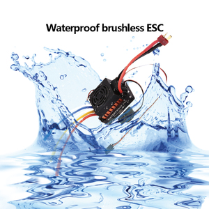 Image 5 - OCDAY עמיד למים 60A RC Brushless ESC BEC רכב חלקי חשמלי מהירות בקר עם 5.5V 3A BEC עבור 1/10 RC רכב משאית
