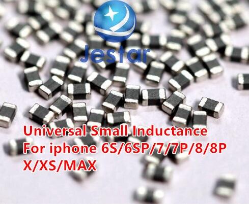 Материнская плата для iPhone 6S/6SP/7/7P/8/8Plus X XS/MAX, обслуживание вокруг катушки повышения процессора, универсальный маленький конденсатор повышени...
