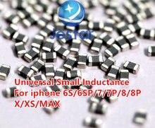 Para o iphone 6 s/6sp/7/7 p/8/8 plus x xs/max mainboard manutenção em torno da bobina de impulso cpu universal pequena indutância impulso capacitor