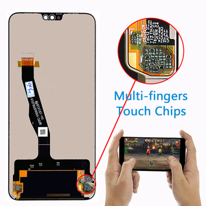 Image 2 - Original Huawei Honor 8X LCD Display JSN L21 JSN L42 JSN AL00 JSN L22 Touch Screen Dizigiter Assembly Frame Honor 8X LCD Part