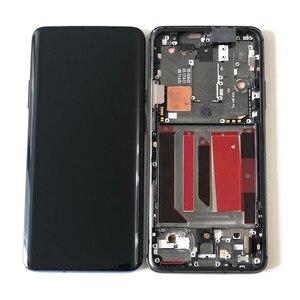 "Image 2 - 6.67 ""מקורי Supor Amoled M & SenFor OnePlus 7 Pro LCD תצוגת מסך + מגע פנל Digitizer מסגרת עבור oneplus 7T Pro LCD"
