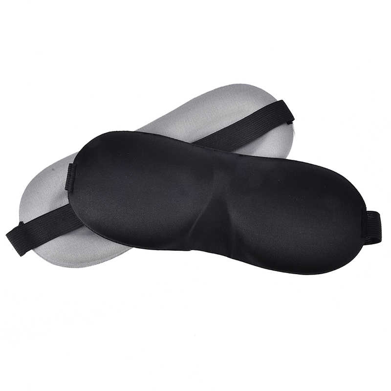 1 個ソフト目隠し旅行眼帯 3D 睡眠マスク自然睡眠アイアイシェードカバシェードアイパッチ女性男性
