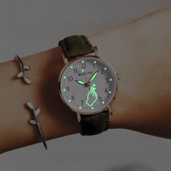 Luminous Women Simple Watches Watch Fashion Women Watches