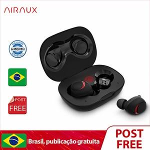 Blitzwolf AIRAUX UM1 bluetooth Earphone Wireless Headset HiFi Noise Reduction IPX6 Waterproof Sports Headsets With Mic(China)