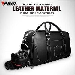 PGM сумки для гольфа большой емкости кожаные сумки для одежды для гольфа водонепроницаемые сумки для гольфа двухслойные спортивные сумки По...