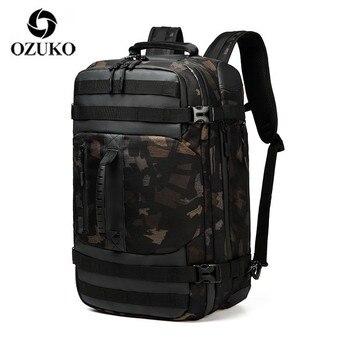 OZUKO Multifunction Large Backpack Men 17 inch Laptop Men Backpacks Large Capacity Fashion Male Mochila Waterproof Travel Bag