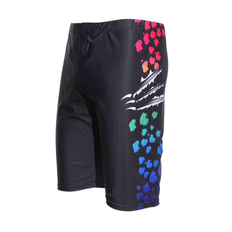 MEN'S Swimming Trunks Short And Paint Fashion Sexy-Swimming Trunks Fashion Men Boxer Plus-sized Swimming Snorkeling 5007