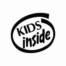 Warnung Kinder Innen Baby an Bord Lustige Auto Aufkleber Autos Motorräder Außen Zubehör Vinyl Aufkleber für Lada Bmw Audi