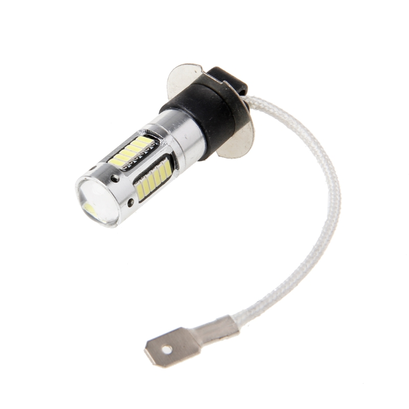 H3 30W 4014 LED Xenon White Headlights Fog DRL Light Kit Bulb Lamp 30SMD 6000K