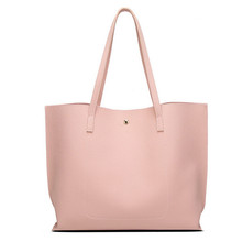 Fashion Women Girls Simple Tassels Leather Bag High Capacity Girls Solid Leather Shopping Handbag Shoulder Tote Lovely Bag #LR4 chileelove tassels marble pattern pu leather cosmetic bag makeup brushes kit bag handbag fashion zipper bag high capacity