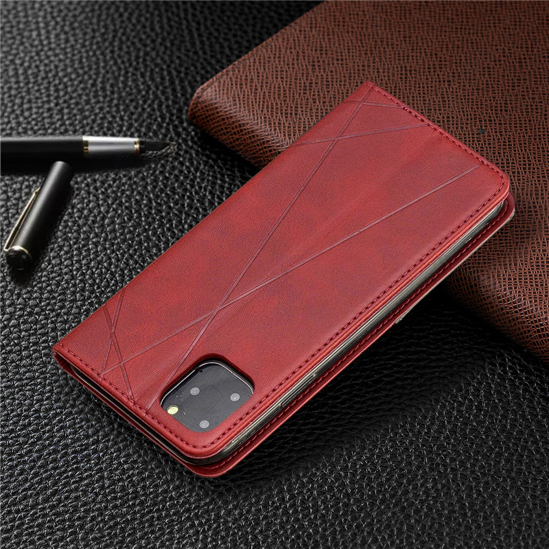Luxury Flip Leather Wallet Case for iPhone 11/11 Pro/11 Pro Max 10
