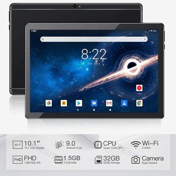 Global Version Android 9.0 OS 10 inch tablet Quad Core 1.5GB RAM 32GB ROM 1280*800 Dual SIM Cards Tablet 10.1