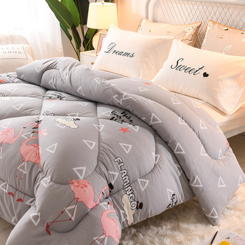 Ultra Soft Duvet Luxury Comforters King/queen/twin Beds Comforters Cute Style Down Sage Blanket For Girl Home Bedding