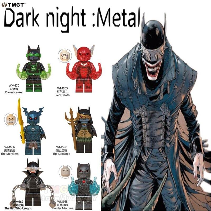 WM6057 Red Death//The Merciless//Drowned//Bat Who Laughs Bricks Blocks Mini Figures