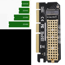 Computer-Adapter-Interface PCIE SSD Led-Expansion-Card M.2-Nvme To Shell Aluminium-Alloy