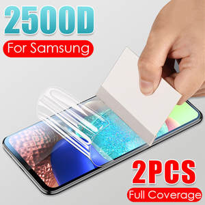 2Pcs 2500D Hydrogel Soft Film For Samsung Galaxy A10 A20 A40 A50 A70 M10 M20 A51 A71 Note 10 Plus Screen Protector Not Glass