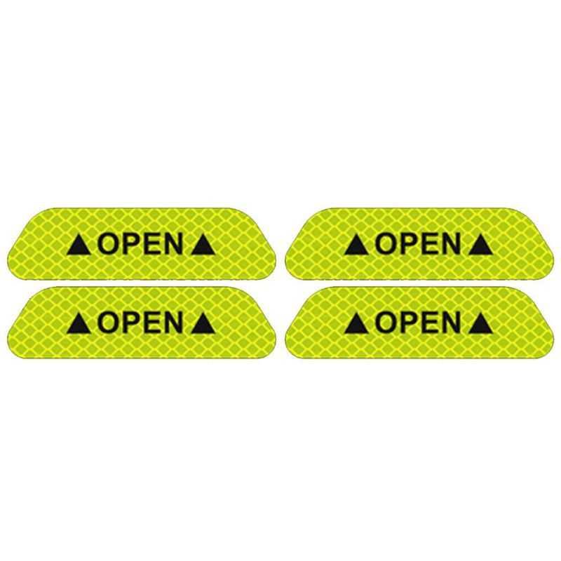 Samochód Open taśma odblaskowa znak ostrzegawczy naklejka na bmw F20 F21 F31 G31 F11 E61 E60 X1 F48 X2 F39 X3 G01 F25 E83