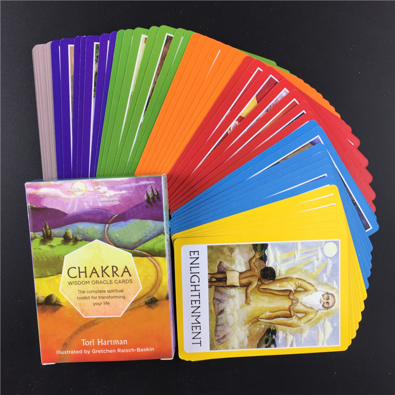 Chakra Wisdom  Oracle  Tarot  Cards The Complete Spiritual Toolkit For Transforming Your Life