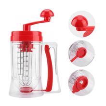 Кухонная машина ручной блинница кекс смеситель для теста Диспенсер блендер инструмент для выпечки кухонная техника