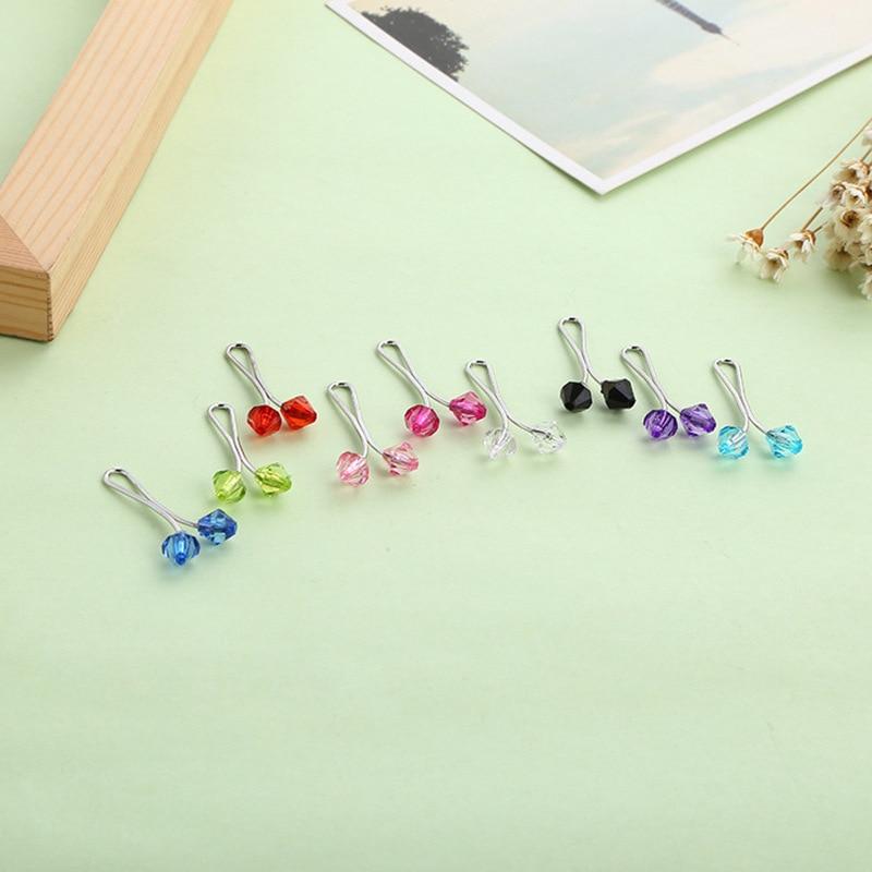 Image 3 - 12 peças embaladas vendas muçulmanas senhoras cachecol clipe  poderoso cachecol fivela colar fivela acessórios femininosBroches   -