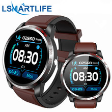 ساعة ذكية للرجال, ساعة ذكية W3 للرجال IP68 مقاومة للماء Reloj ساعة ذكية مع ECG PPG ضغط الدم معدل ضربات القلب رياضة اللياقة البدنية
