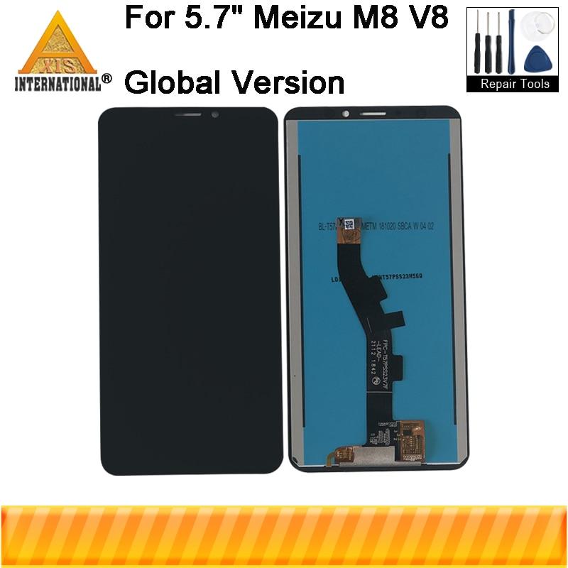 Original For 5.7 Meizu V8 Pro Global Version 4GB 64GB Axisinternational LCD Display Screen+Touch Panel Digitizer For Meizu M8