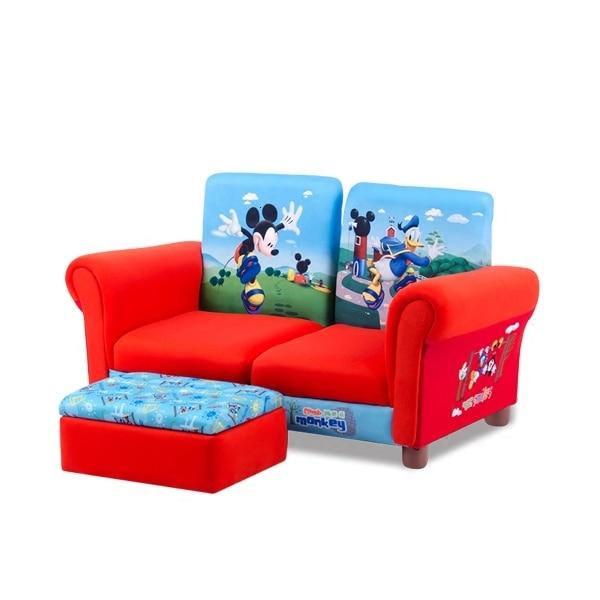 Kids Bedroom Children Sofa Chair Cartoon Articles Small Baby Sofa Group Close Storage Stool Zitzak Bean Bag Two Seat