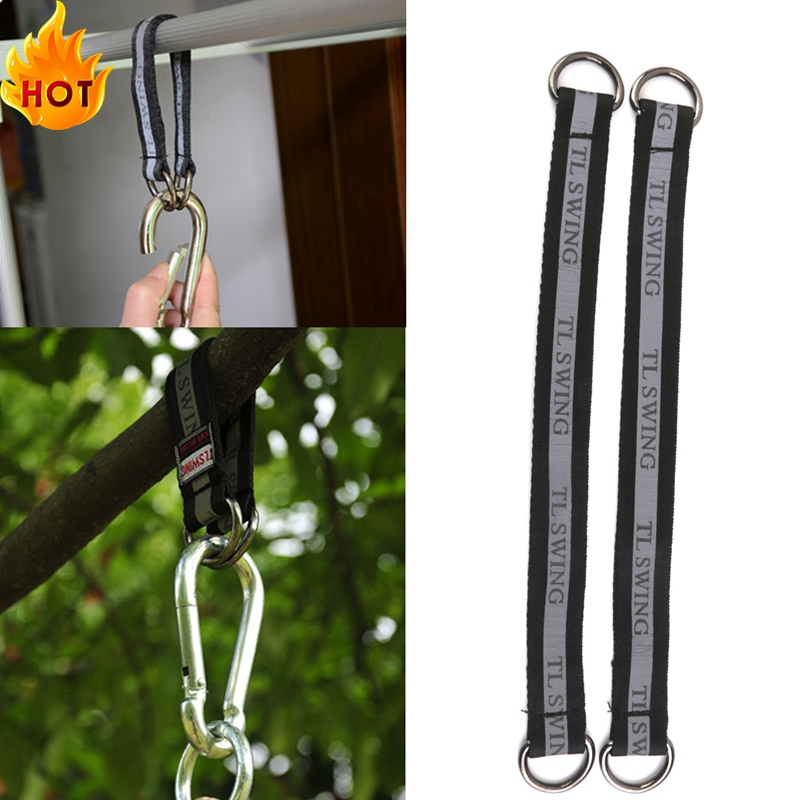 Strong Pair Heavy Duty Hanging Straps Belt for Swing Chair Hammock Hanging Tree Beam Accessory 5Kinds