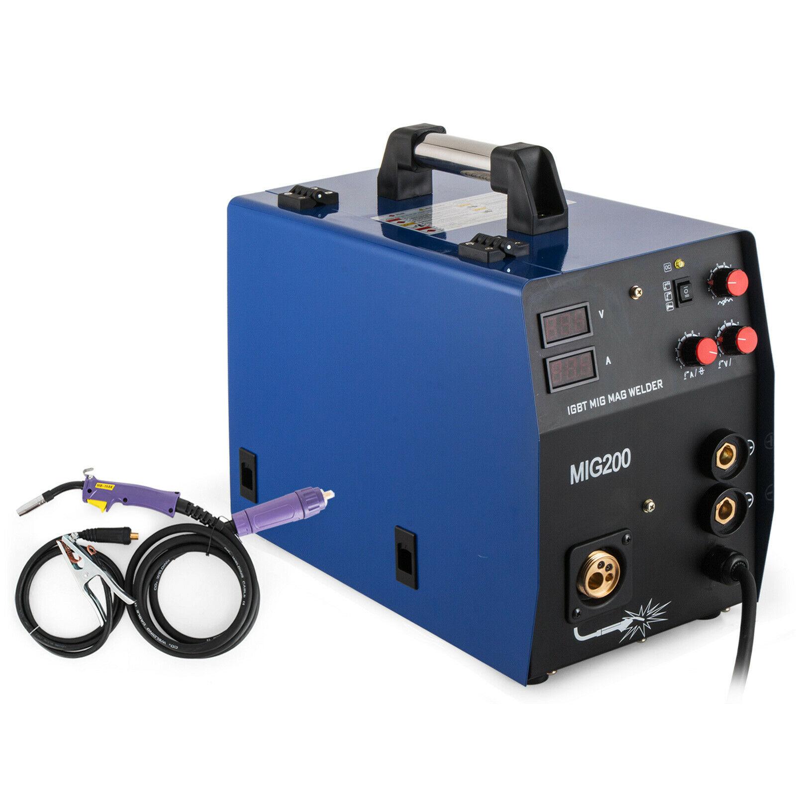 200Amp MIG/MMA 2-in-1 Inverter DC Schweißer IGBT, Gas/Gaslose 220V