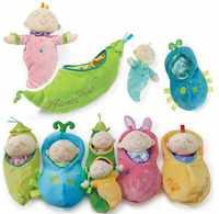 Pea pod babies Toy Mini Baby Dolls Surprise Simulation Baby Doll Blind Box Girl boy gift birthday accompany dress up interactive