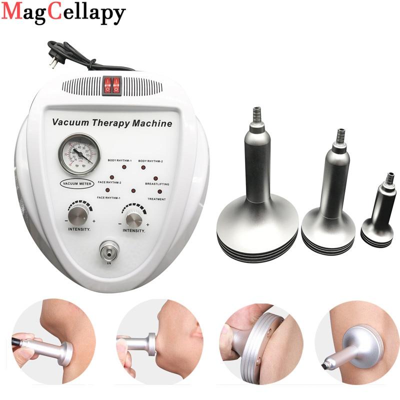 Gesichts Schröpfen Roller Therapie Von Vakuum Massage Maschine für Hause Salon & Reduzierung Cellulite Lymphdrainage & Körper Gestaltung