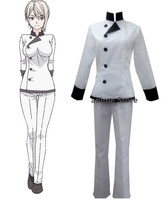 Anime Shokugeki no Soma Cosplay Costume Chef Uniforms Custom For You !