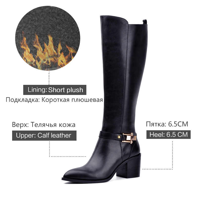 Donna-in 2016 neuen stil über kniehohe stiefel lace-up leder frauen stiefel high heel damen stiefel