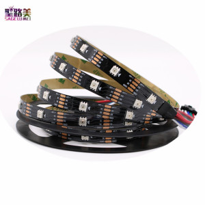 Image 5 - DC12V WS2815 (WS2812 WS2813) LED Pixels Strip Light Individually Addressable LED Dual Signal RGB Tape Ribbon 30/60/144 Pixels/m