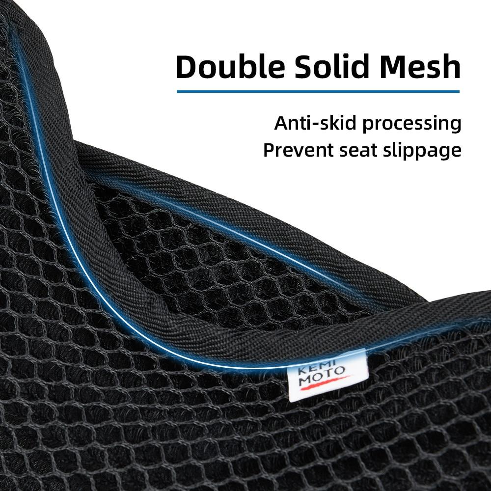 Sunscreen Motorcycle Seat Cover Waterproof Sun Protector Mesh Cushion