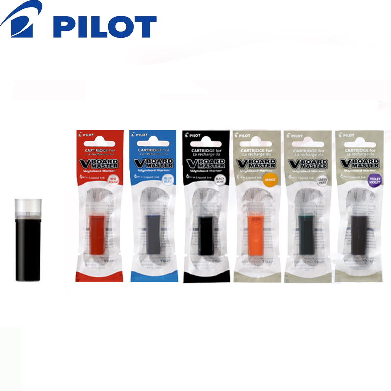 Janpan Imported Pilot Ink Cartridge For Pilot Whiteboard Marker(Board Master) 6 pcs/lot Writing Supplies P-WMRF8 1
