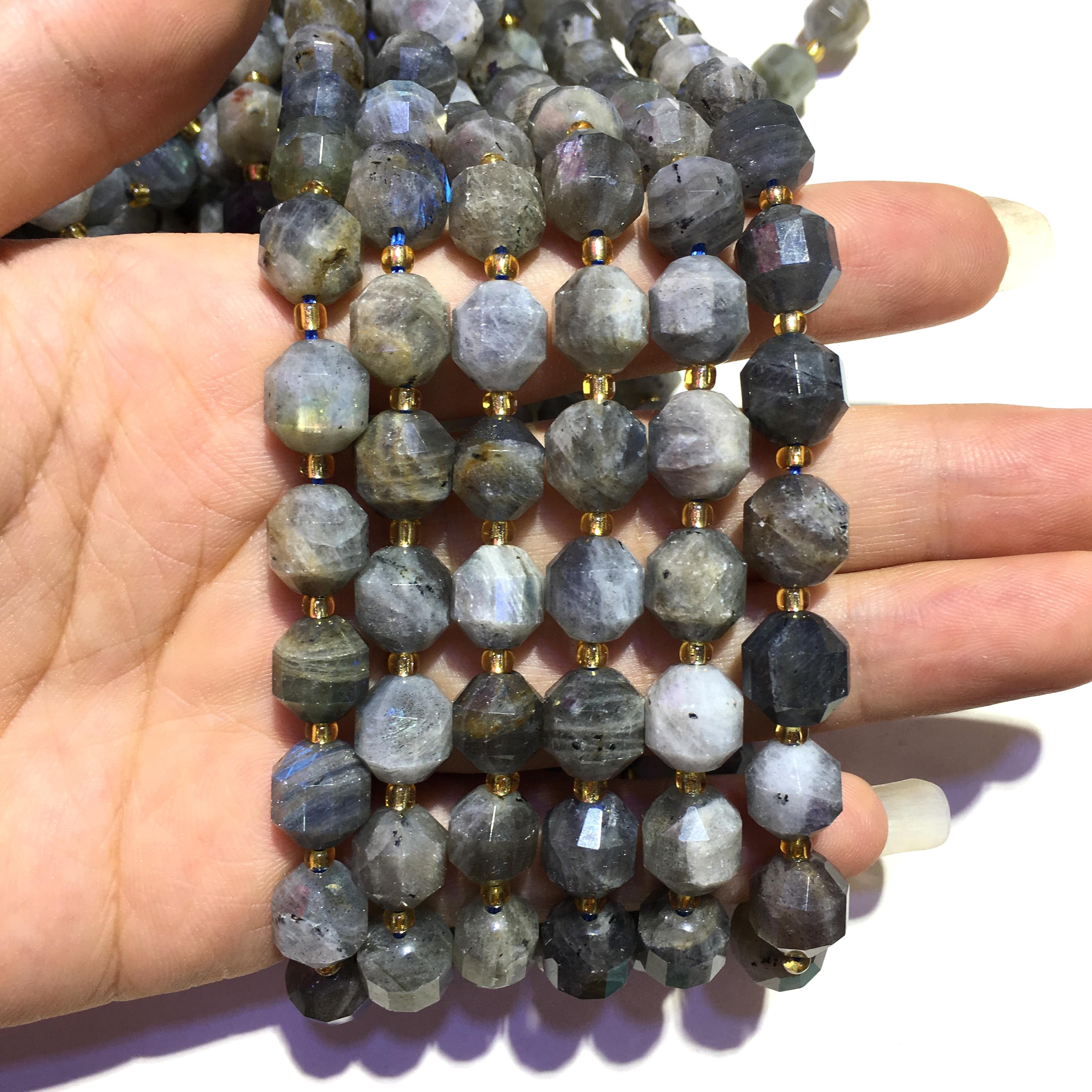 Купить натуральный камень лабрадорит самородок свободные бусины целебные