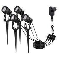 1* Waterproof Model Walkway Light Gardon Lamp 3w 2800K 3200K Optional Plug Type EU/US/UK Accessories