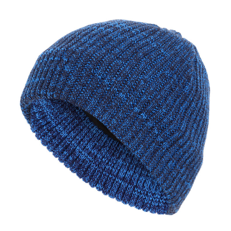 New Winter Spring Hat 2020 Double Furry Headgear Knitted Headgear For Men And Women